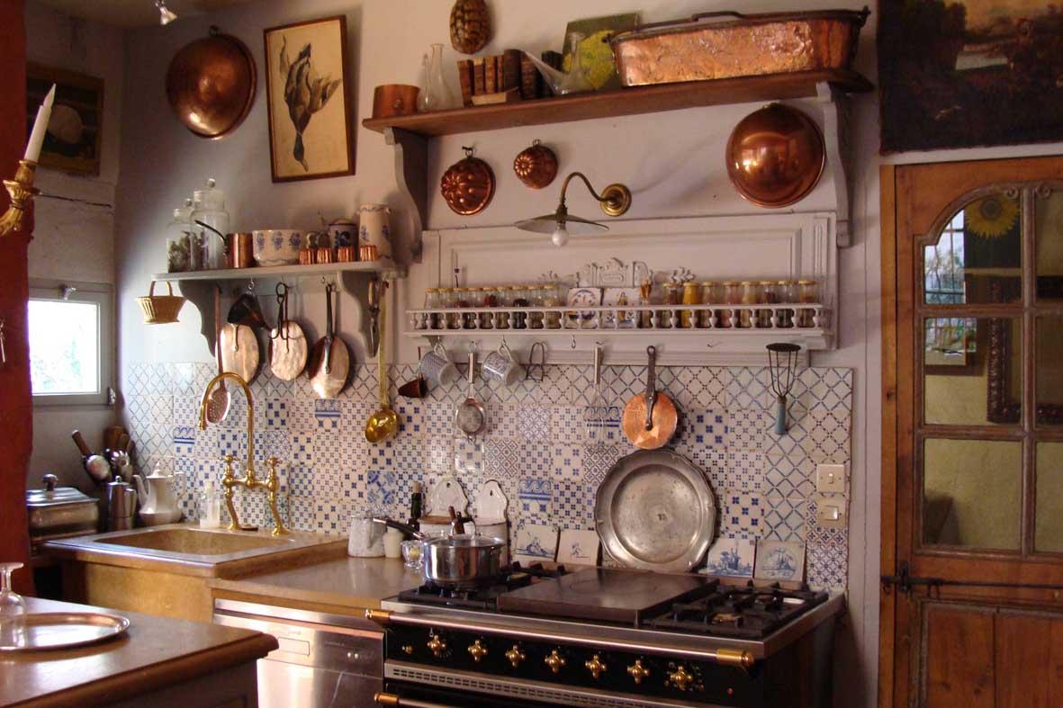 Кухня в стиле кантри фото интерьер своими руками фото 50