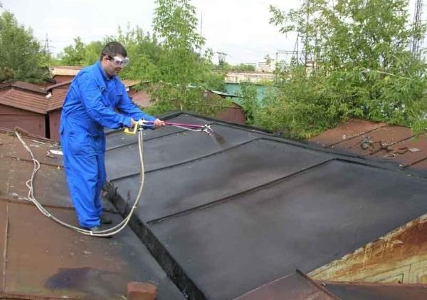 Ремонт крыши гаража металлического своими руками 86