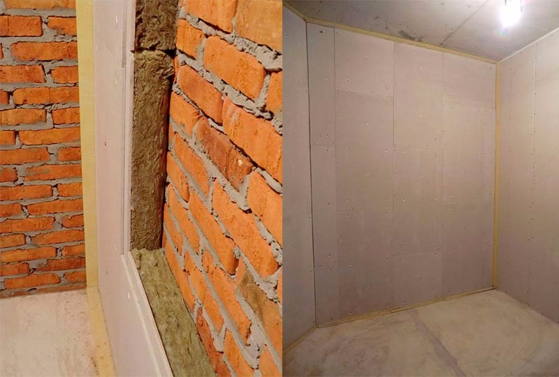 Основной набор материалов для шумоизоляции стен в квартире