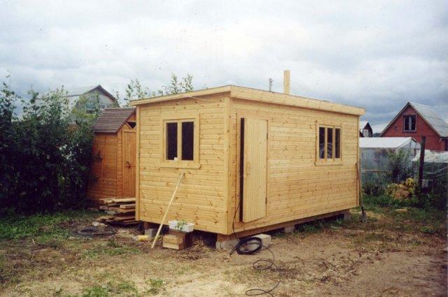 Дачные домики – недорогое мобильное сооружение