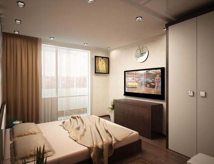 Как обустроить прямоугольную спальню? Секреты и советы.