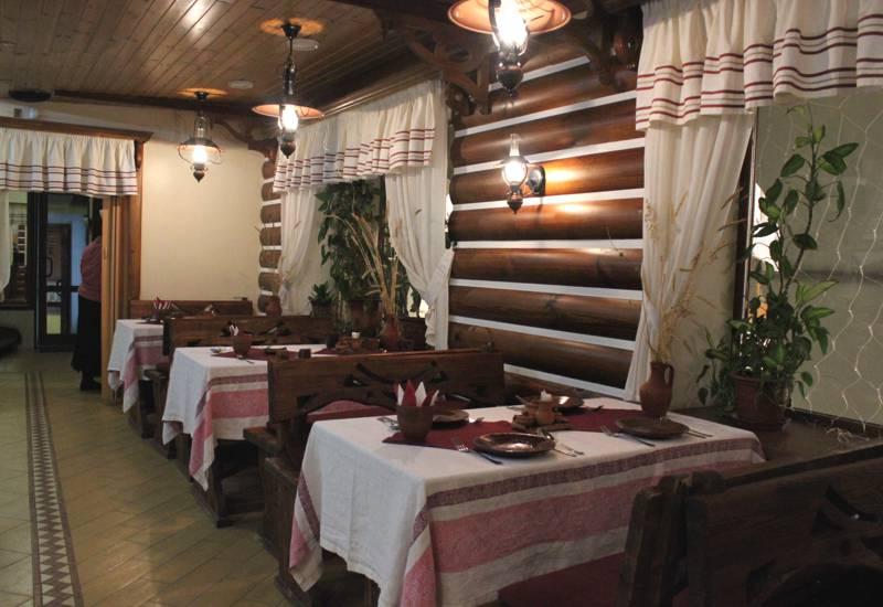 Дизайн ресторана в русском стиле
