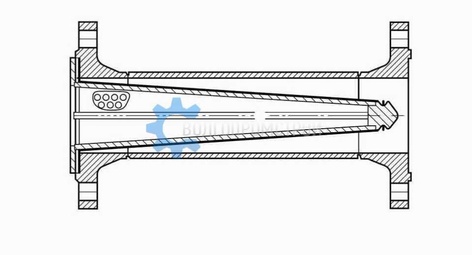 Фильтр конусный сетчатый ФС-VII (ФСК)