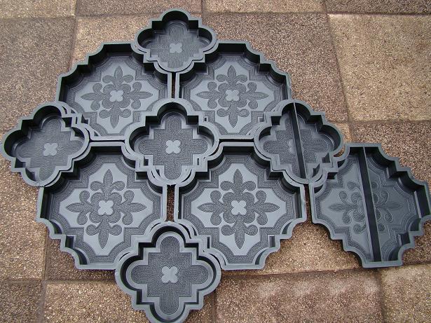 Формы для производства тротуарной плитки: основные виды. Процедура укладки плитки