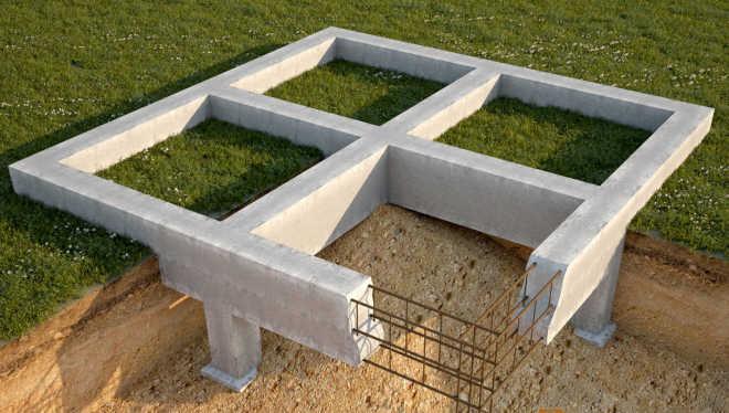 Фундамент из бетона - свойства, особенности, характеристики и параметры