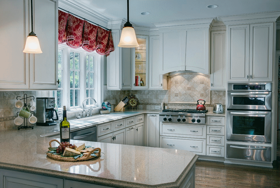 Интерьер кухни в стиле прованс