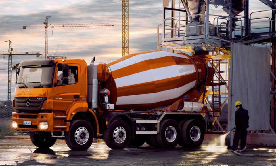 Как происходит доставка бетона на строительную площадку