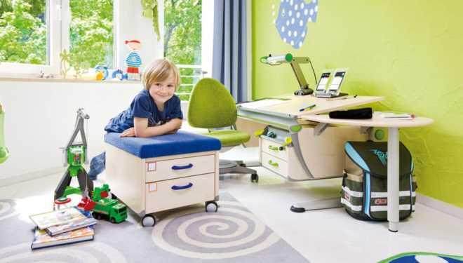 Нюансы выбора настольного светильника для детской комнаты