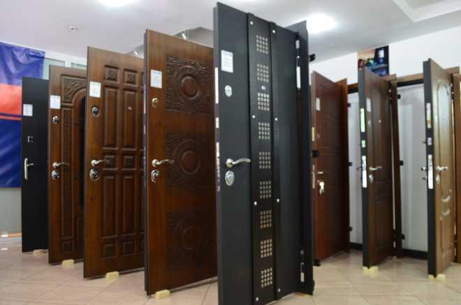 Входная металлическая дверь в квартиру
