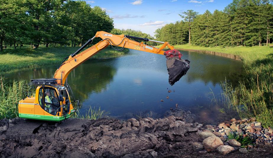Очистка водоемов – работа для профи