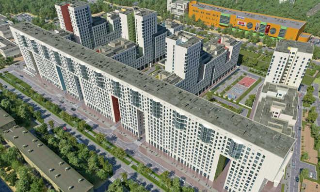 Однокомнатные квартиры в Балашихе в ЖК «Акварели»
