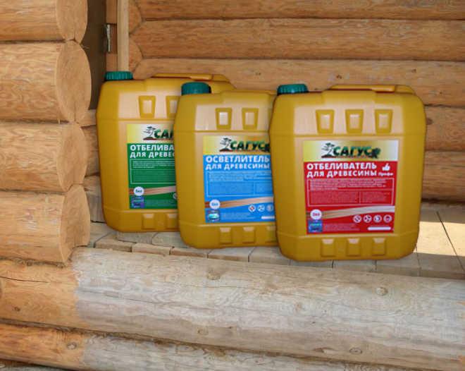 Отбеливатель древесины САГУС