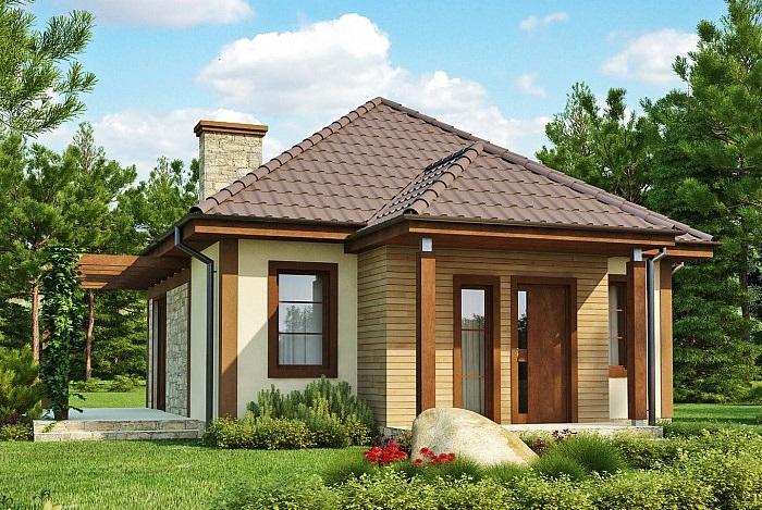 Виды проектов домов из СИП-панелей