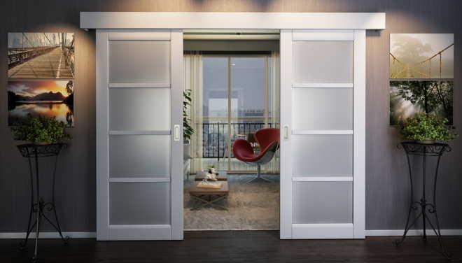 Раздвижные межкомнатные двери: советы и выбор