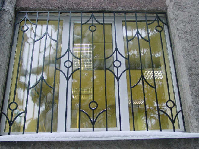 Раздвижные решётки на окна