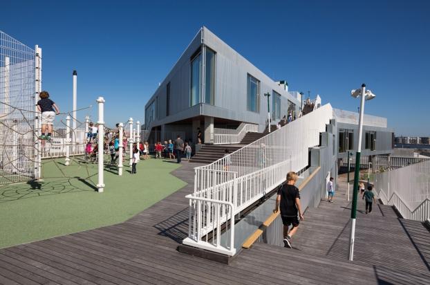 Школа South Harbour в Копенгагене - победитель конкурса WAN Awards в категории «Образование 2016»