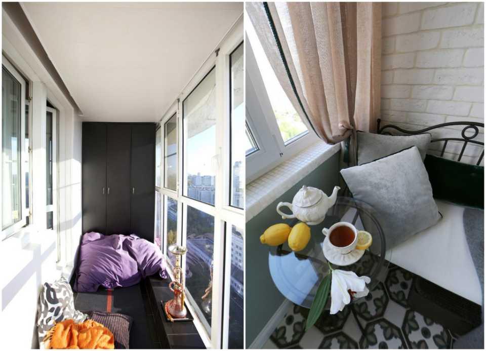 Советы по дизайну маленького балкона своими руками