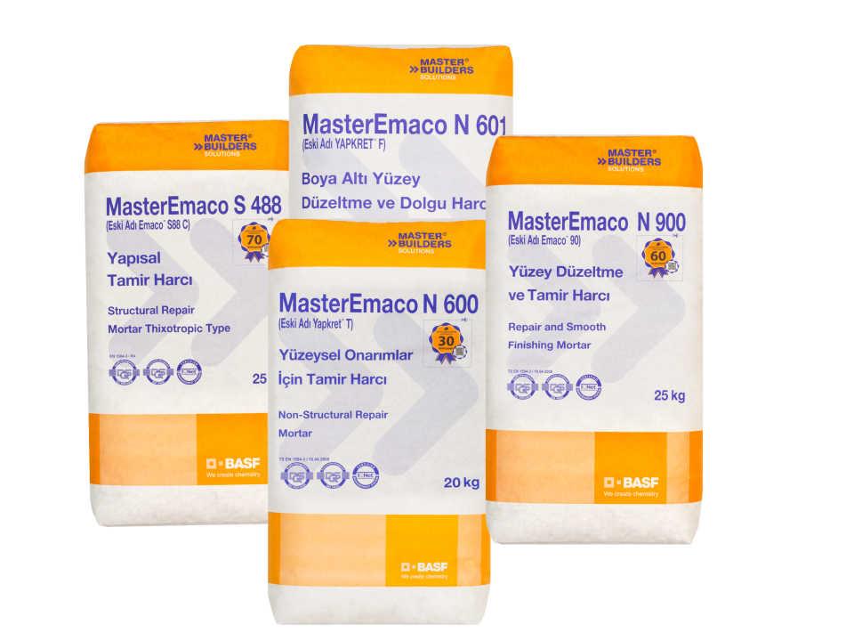 Сухие смеси MasterEmaco: особенности и преимущества