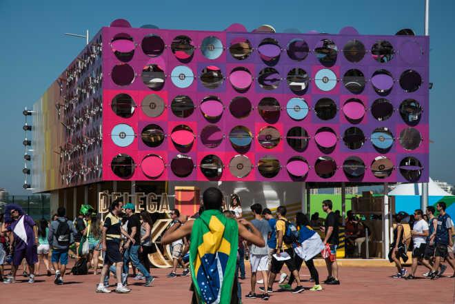 Танцевальный павильон на Олимпийские игры 2016 в Рио