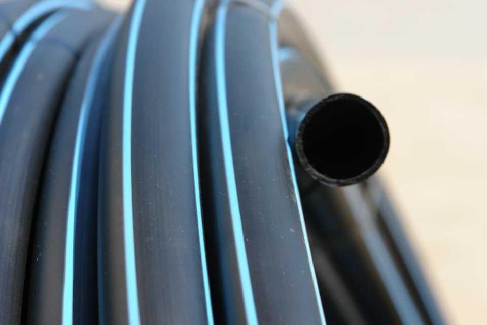 Водопровод из 32 мм ПНД труб своими руками