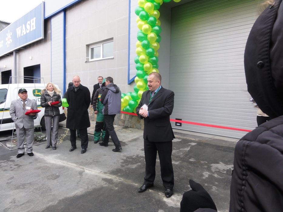 Открытие сервисного центра «John Deere» и «Меркьюри Технолоджи» в городе Троицке 7 ноября