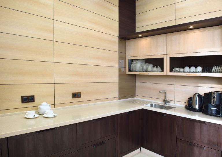 Панели МДФ для обустройства фартука и стен кухни