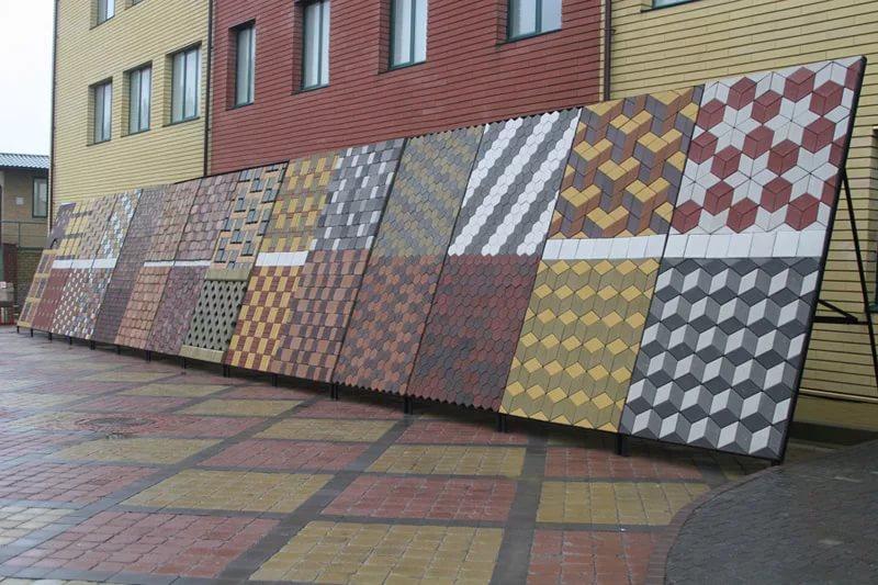 Тротуарная плитка как хороший стройматериал