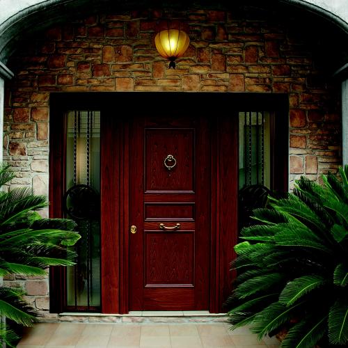 Входные уличные утепленные металлические двери