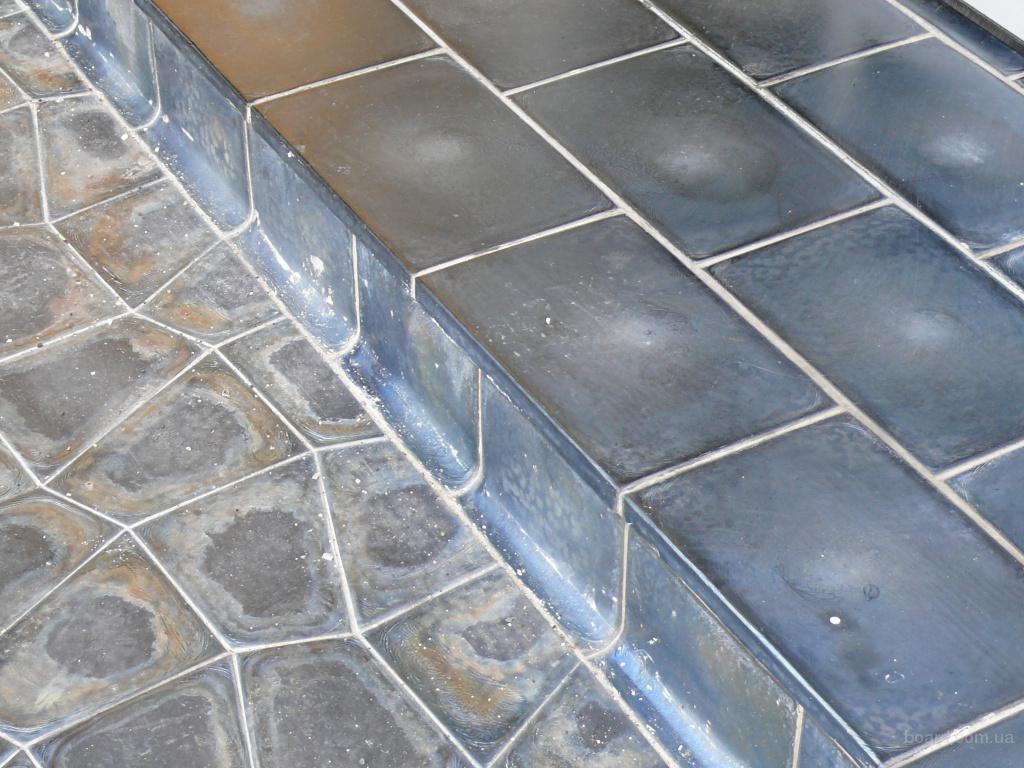 Плитки из базальта для двора