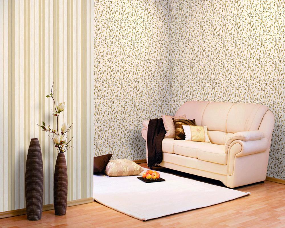 Дизайн квартир с обоями двух цветов фото