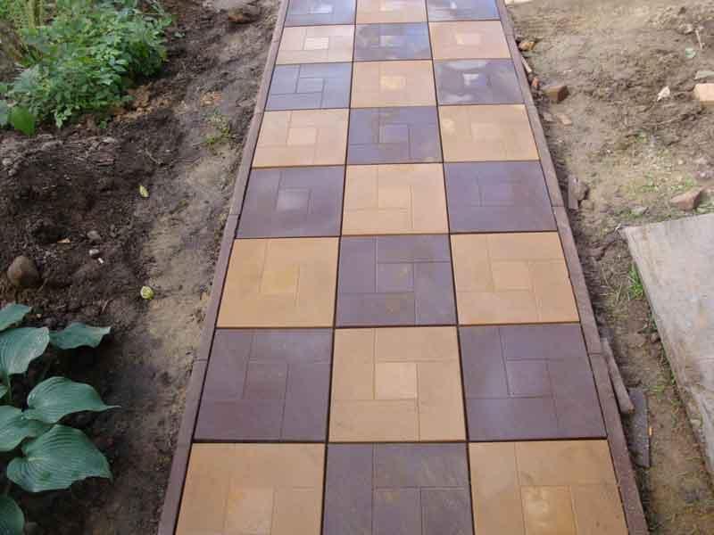 Преимущества тротуарной плитки перед асфальтом
