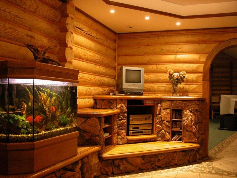 Дома из натурального бревна