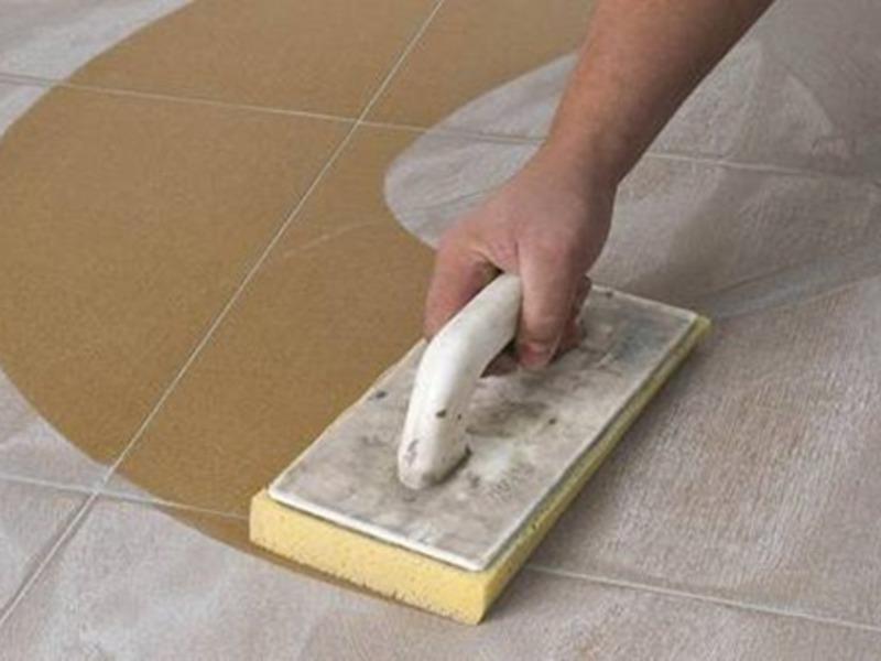 Как затирать швы у плитки
