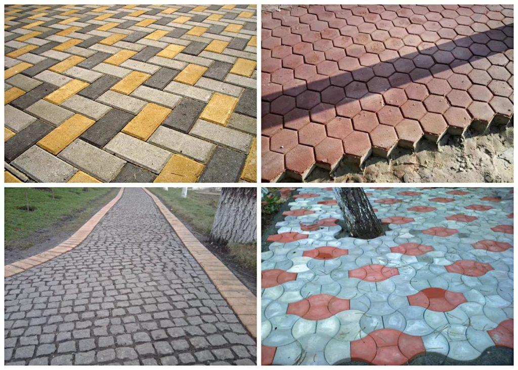 Разновидности и преимущества тротуарной плитки