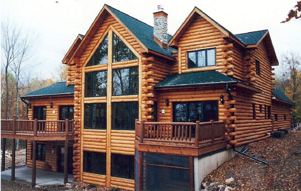 Применение разных пород древесины в строительстве