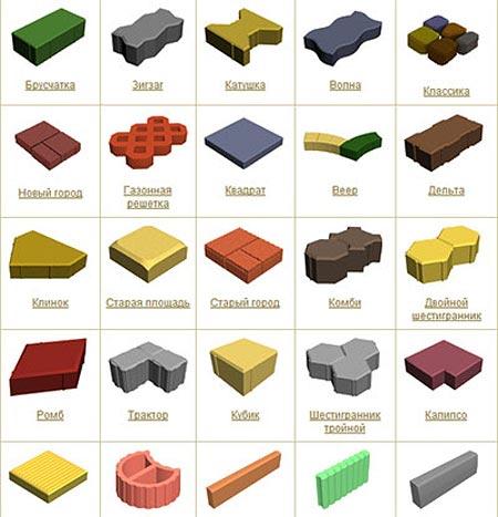 Производители тротуарной плитки