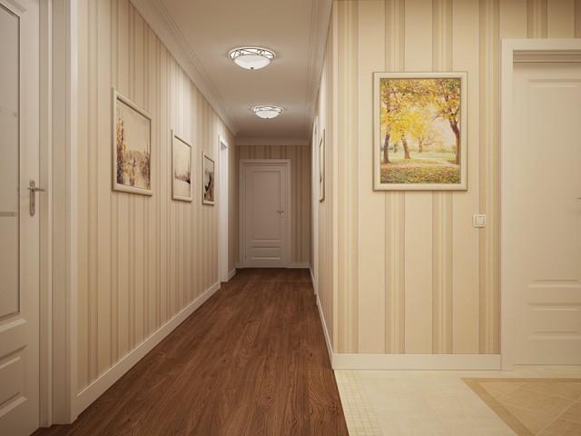 Как выбрать обои для стен коридора