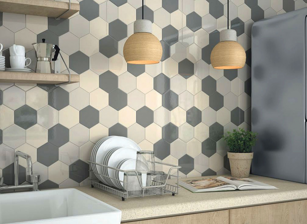 Porcelain ceramic tile