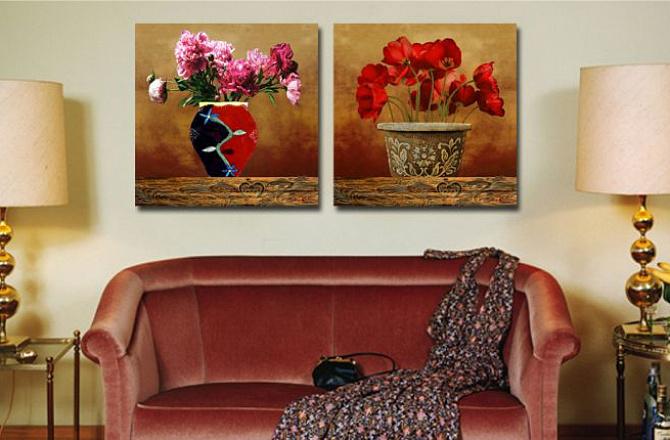 Удачный выбор картин для интерьера